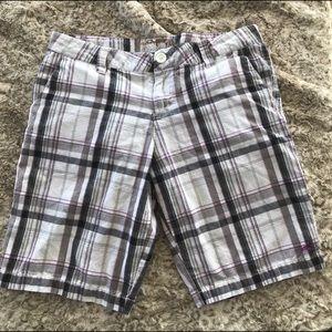 O'Neill plaid Bermuda shorts-9